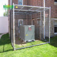 Chain link fence top rail