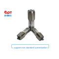 Solid carbide pipe thread tap