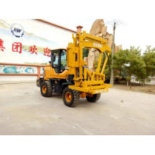 Manufacturing Companies for for Press Wheel Pile Driver Highway Road Guardrail Beam Post Pile Driver supply to Georgia Suppliers