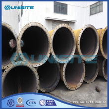Spiral round large diameter steel pipe