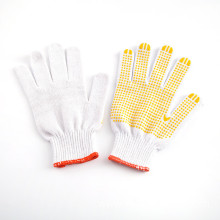 Special for PVC Dotted Cotton Canvas Gloves Resistant Gloves Double Side PVC Dotted supply to Djibouti Wholesale