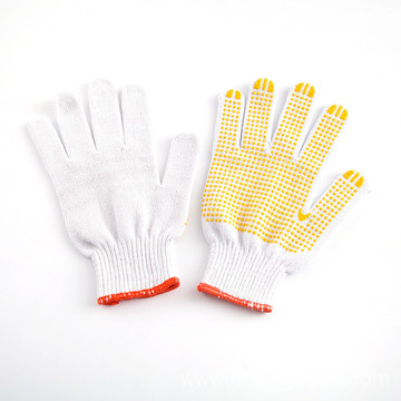 Resistant Gloves Double Side PVC Dotted