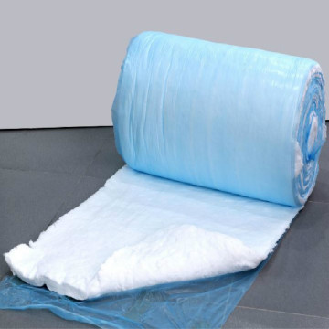 Fiberglass insulation blanket mat