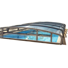Enclosure Patio Plexiglass Polycarbonate Swimming Pool Cover