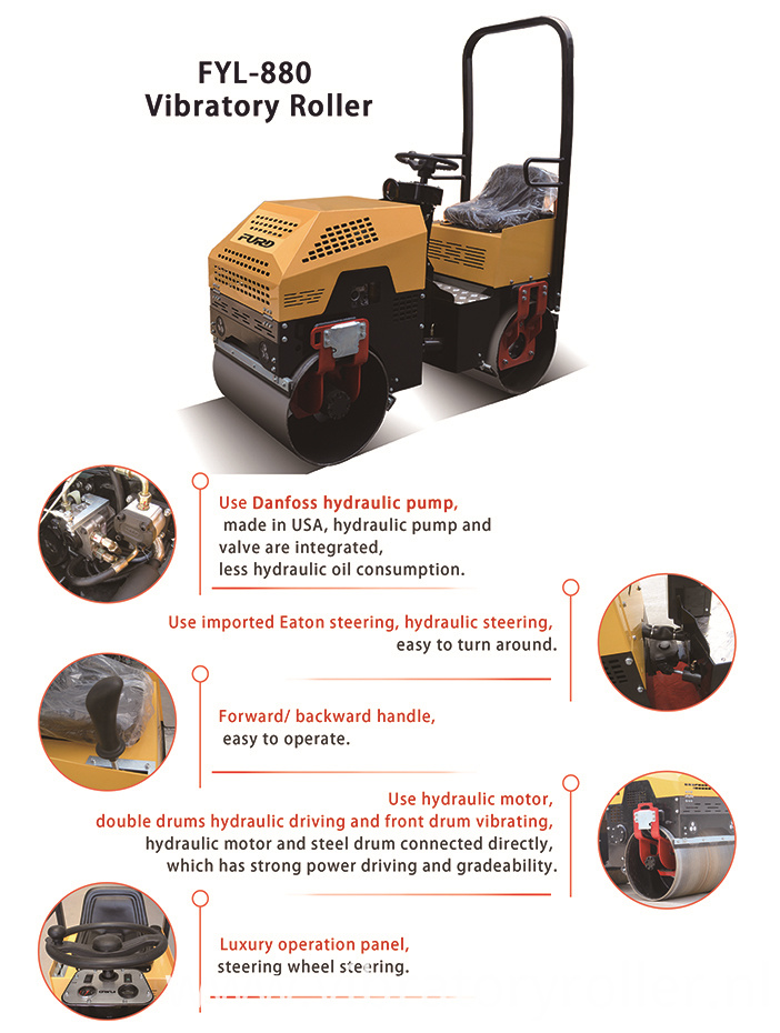 Steel Wheel Vibratory Road Roller