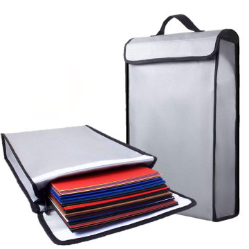 Fireproof Travel Resistant Document Bag
