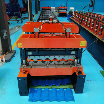 Glazed Tile Roofing Panel Machine