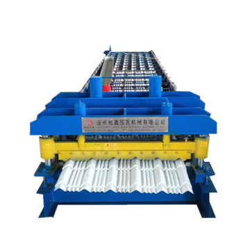 Dx Circular arc glazed tile equipment