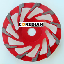 China for T Segment Cup Wheel 125mm L Segment Grinding Cup Wheel export to Chad Manufacturer