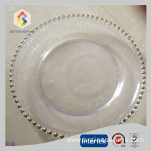Best Quality for Offer Charger Plates, Gold Charger Plates, Silver Charger Plates, Glass Charger Plate From China Manufacturer Wholesale wedding favors Gold/Silver charger plates export to Tajikistan Manufacturers