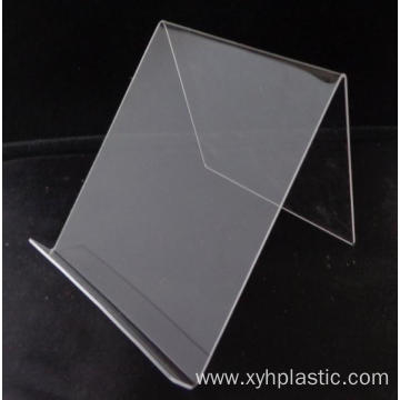 China for Acrylic Rod Custom Clear Acrylic Easel Book Holder Rack export to United States Factories