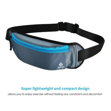 Super Lightweight and Compact Design Durable Waterproof Nylon Material High Quality Fashion Running Waist Bag