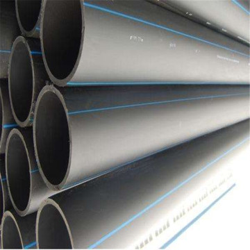 Factory Price for China HDPE Pipe,Plastic HDPE Pipe,Reinforced HDPE Pe Pipe Supplier Round hollow water supply polyethylene HDPE pipe export to Portugal Factory