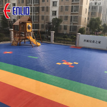 kindergarten floor children playground field tile