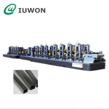High Frequency Welding Steel Square Pipe Making Machine