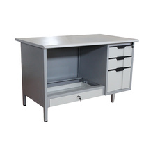 High Definition for Classic Office Desk Metal Office Furniture Classic Desk supply to Cook Islands Wholesale