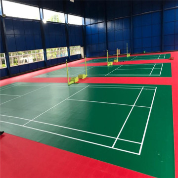 Outdoor Modular Court Tiles PFP Badminton Sports Flooring