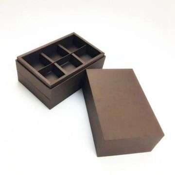 Chocolate box cardboard paper gift case