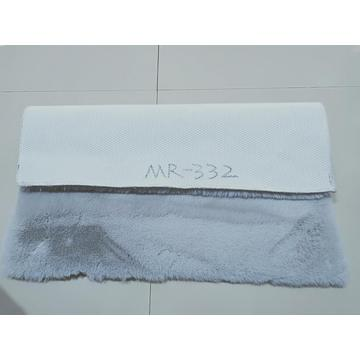Rabbit Fur Mat With TPR Backing