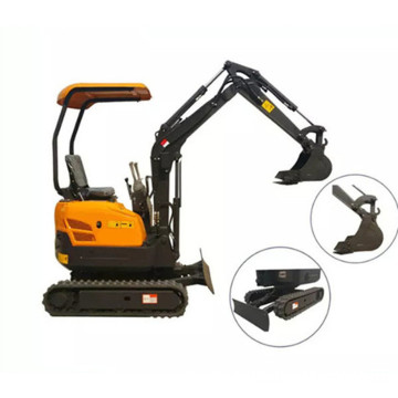 Low price excavator 1600kg small digger for garden