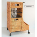 Weaving Banana Leaf Storage Trunk