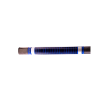 Low temperature heating pipe element with low voltage