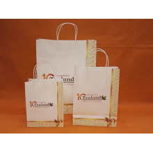 Printed Logo Custom Shopping Bag