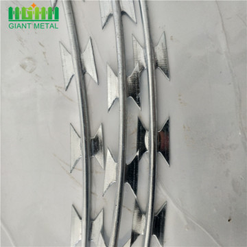 Factory Product Galvanized Razor Wire Price per Roll