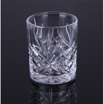 Cut Double Old Fashioned Rocks Glass