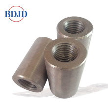 Goods high definition for China 45C Material Rebar Coupler,Metal Rebar Coupler,Types Of Rebar Couper,12-50Mm Rebar Coupling Manufacturer Civil Construction 32mm Steel Rebar Coupler Price export to United States Factories