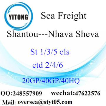 Shantou Port Sea Freight Shipping To Nhava Sheva