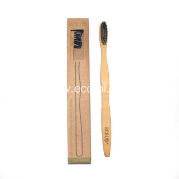 Free Eco Vegan Bamboo Toothbrush with Biodegradable Package