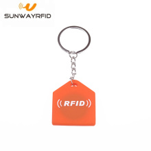China Professional Supplier for RFID Silicone Keychain Door Access Control customized 13.56MHz RFID keyfob export to Jamaica Factories