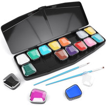 Water-Based Non-Toxic Face Paint Palette For Play