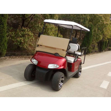 Golf cart and independent suspension system
