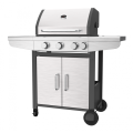 Three Burner Gas BBQ With Side Burner