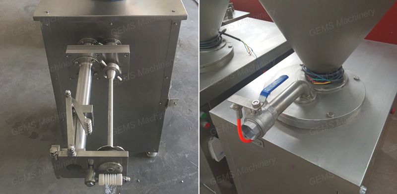 Industrial Stainless Steel Hot Dog Sausage Stuffer Machine