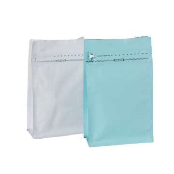 Square Bottom Gusseted Zipper Bags