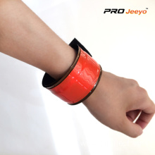 Hi Vis Fluorescence Red PVC Safety Wristband