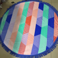 wholesale thin round beach towel low price cheap
