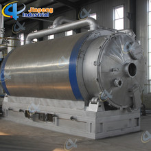 China for Large Capacity Used Tires Pyrolysis Plant National Patents Automatic Machine Waste Pyrolysis Fuel Oil export to Albania Importers