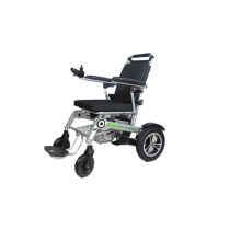 Luxury full automatic folding wheelchair