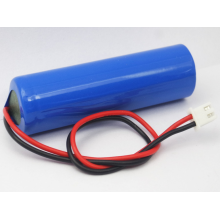 1 Cell Lithium Battery Pack 3.7v 2200mAh (18650C1)
