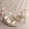 Wedding Off White Bridesmaid Shoes Sandals