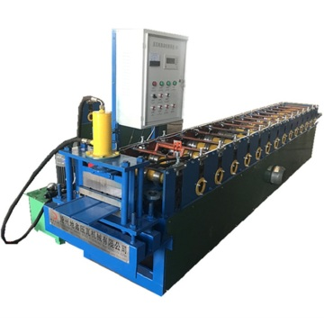 Colored sheets wall siding panel roll forming machine