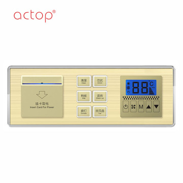ACTOP Smart hotel key card power switch