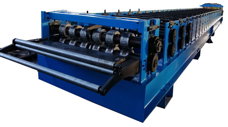 Floor Tile Decking Forming Machine