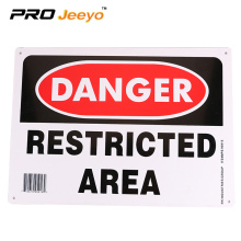 High Reflective Aluminum Customized Safety Sign Board