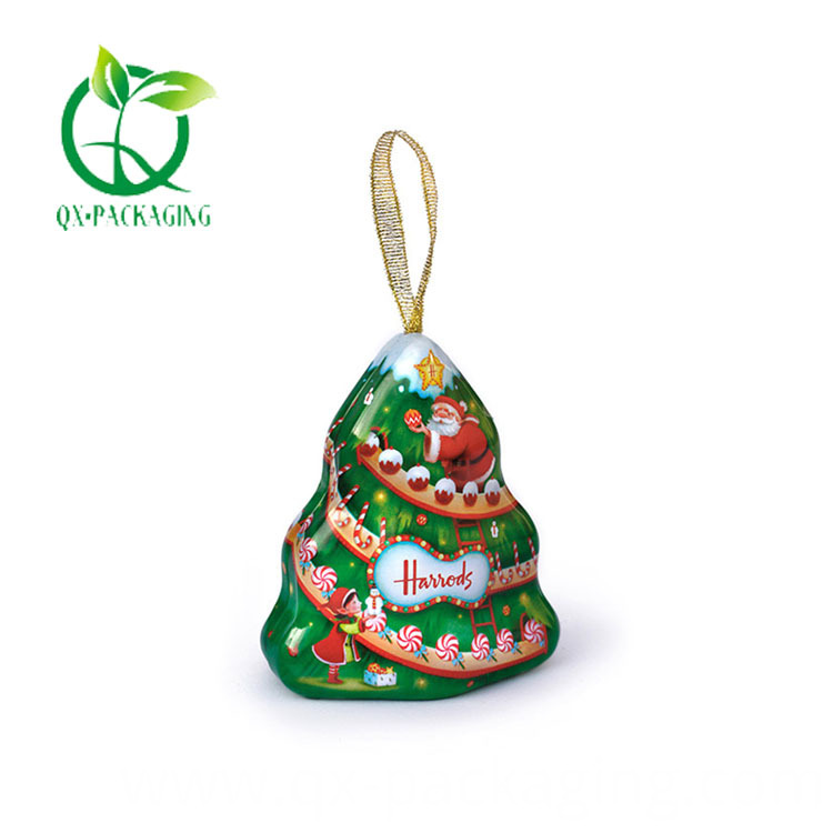 Christmas Tree Biscuit Tin