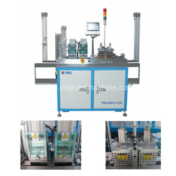 Smart Card Module Laminate Adhesive Machine